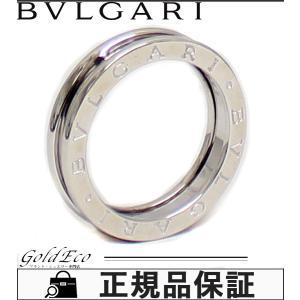 送料無料 新品仕上げみ BVLGARI ブルガリ ビーゼロワン リング 1バンド  K18WG ホワイトゴールド 約10号 ブランドジュエリー 750 B.Zero1 指輪 中古|goldeco