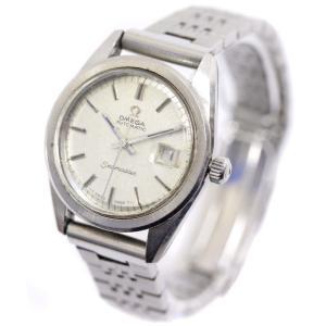 オメガ シーマスター 腕時計 レディース 自動巻き シルバー文字盤 シルバー 中古 送料無料 OMEGA|goldeco