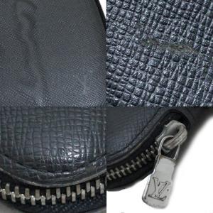 ルイヴィトン タイガ オーガナイザー アトール トラベルケース メンズ 長財布 M30652 タイガレザー アルドワーズ ブラック 黒色 中古 LOUIS VUITTON goldeco 04