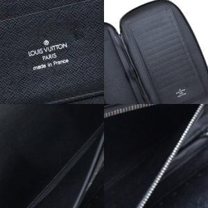 ルイヴィトン タイガ オーガナイザー アトール トラベルケース メンズ 長財布 M30652 タイガレザー アルドワーズ ブラック 黒色 中古 LOUIS VUITTON goldeco 05