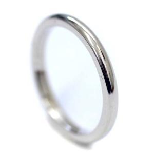 新品仕上げ済み ティファニー シンプル マリッジリング リング・指輪 レディース Pt950プラチナ ジュエリー 9号 プラチナ 中古 送料無料 TIFFANY&Co.|goldeco