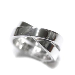 カルティエ パリリング リング・指輪 ユニセックス K18ゴールド ジュエリー 9号 ホワイトゴールド 中古 送料無料 CARTIER|goldeco