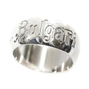 新品仕上げ済み ブルガリ セーブザチルドレン  SV925 #57 リング・指輪 メンズ シルバー925 アクセサリー 18号 シルバー 中古 送料無料 BVLGARI goldeco
