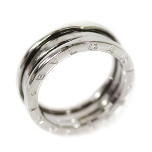 新品仕上げ済み ブルガリ B-zero1 ビーゼロワン 750WG #59 リング・指輪 メンズ K18ホワイトゴールド 18.5号 K18WG 中古 送料無料 BVLGARI|goldeco