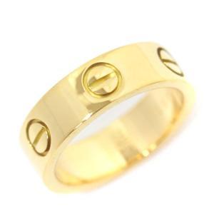 カルティエ ラブリング 750 リング・指輪 ユニセックス K18イエローゴールド ジュエリー 10号 YG 中古 送料無料 CARTIER goldeco