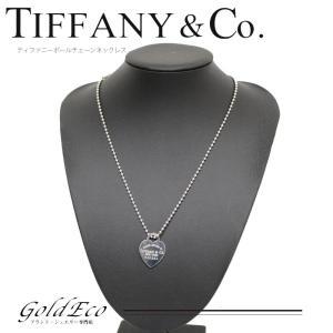 ティファニー リターントゥ SV925 ネックレス シルバー 925 中古新品仕上げ Tiffany&Co|goldeco