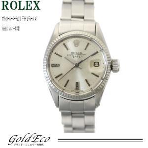 ロレックス オイスターパーペチュアルデイト レディース 腕時計 自動巻き ref.6517 新品仕上げ オーバーホール済み 中古 ROLEX