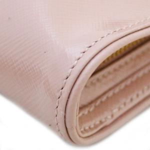 プラダ 2WAY ショルダーバッグ レディース ヴェルニ 型押しレザー ピンク BP529Y 中古 送料無料 PRADA|goldeco|10