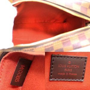 ルイヴィトン ダミエ オラフPM ショルダーバッグ 男女兼用 斜め掛け 肩掛け メンズ メッセンジャーバッグ カバン エベヌ N41442 中古 LOUIS VUITTON 送料無料|goldeco|03