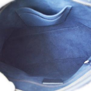 GUCCI グッチ GGスプリーム フラワーモチーフ ハンドバッグ 429019 ショルダーバッグ 肩掛け 斜め掛け グレー系 ブルー 花 レディース 中古 送料無料|goldeco|03