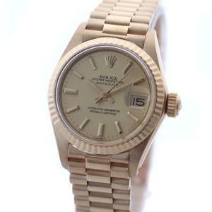 ロレックス デイトジャスト レディース 腕時計 K18YG ...