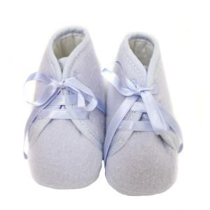 未使用 エルメス ベビーシューズ メンズ レディース 靴 ファーストシューズ ウール スカイブルー 水色 中古 HERMES|goldeco|02