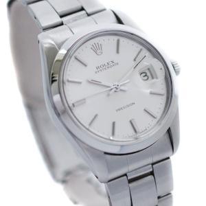 ロレックス オイスターデイト メンズ 腕時計 アンティーク 手巻き シルバーダイアル ステンレス デイト機能 Ref.6694 中古 ROLEX|goldeco