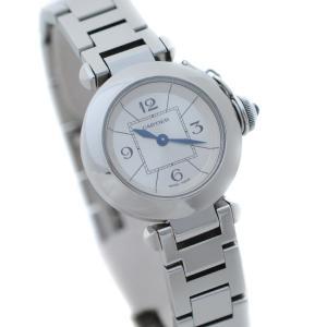 カルティエ ミスパシャ 腕時計 レディース クオーツ シルバ...