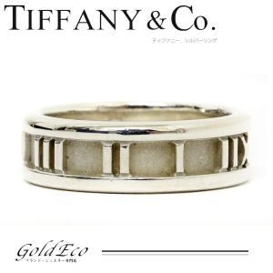 ティファニー アトラス リング 約12.5号 シルバー 925 指輪 中古 新品仕上げ済み Tiffany&Co|goldeco