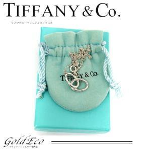 ティファニー エレサ・ペレッティ ダブルループ ネックレス SV925 シルバー 中古 新品仕上げ Tiffany&Co|goldeco