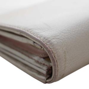 アンテプリマ フラワー 二つ折り 長財布 レディース レザー メタリックカラー ピンク 中古  ANTEPRIMA|goldeco|12