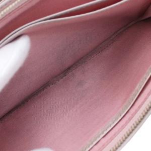 アンテプリマ フラワー 二つ折り 長財布 レディース レザー メタリックカラー ピンク 中古  ANTEPRIMA|goldeco|06