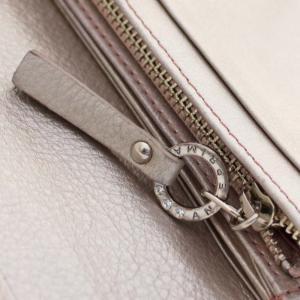 アンテプリマ フラワー 二つ折り 長財布 レディース レザー メタリックカラー ピンク 中古  ANTEPRIMA|goldeco|10