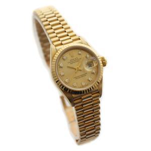 ROLEX ロレックス デイトジャスト レディース腕時計 6...