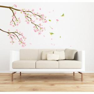 ウォールステッカー 桜 さくら サクラ 花 フラワー 植物 ...