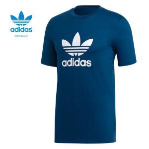 [TIME SALE 6/21(木) 12:59終了] adidas アディダスオリジナルス トレフォイル ロゴTシャツ 三つ葉 メンズ レディース