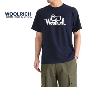 [TIME SALE 50%OFF] Woolrich ウールリッチ 羊ロゴ Tシャツ NOTEE1933 半袖Tシャツ メンズ