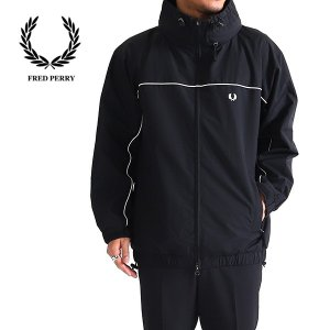 [TIME SALE 50%OFF] Fred Perry フレッドペリー ロゴ入りスポーツジャケッ...