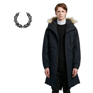 [TIME SALE 30%OFF] Fred Perry フレッドペリー 2ウェイ ファー付き モ...