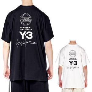 Y-3 ワイスリー グラフィックTシャツ Yohji Yam...