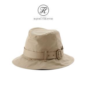 [SALE] KIJIMA TAKAYUKI キジマタカユキ シルク混 トレンチハット W-192761 帽子 レディース|Golden State