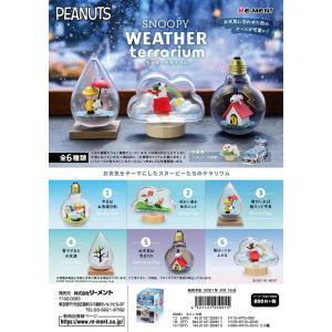 リーメント SNOOPY WEATHER Terrarium 全6種 1BOXでダブらず揃います。の画像