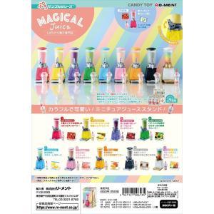 (予約)1/20発売 リーメント ぷちサンプル しぼりたて果汁専門店 Magical Juice 全9種 1BOX:9個入り ダブらず揃います