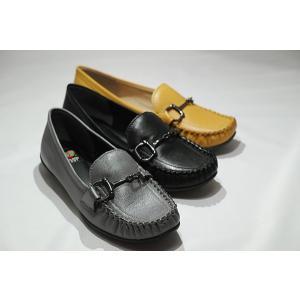 送料無料 ゴールデンフット 婦人靴 63381 モカシンカジ...