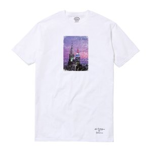 NEW YORK ZINE x DELICIOUS Photo T-Shirt TEE ニューヨーク・ジン デリシャス コラボレート Tシャツ 限定100枚 WHITE ホワイト|goldentijuana