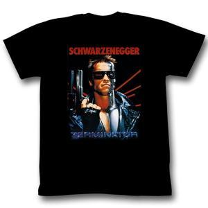 90年代を代表するSF映画TERMAINETOR (ターミネーター)のオフィシャルS/S T-SHI...