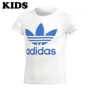 ADIDAS ORIGINALS アディダス オリジナルス CD8437 HERI LITTLE TRF TEE リトル Tシャツ キッズ 半袖 子供服 男の子 女の子 ホワイト/ブルー|goldentijuana