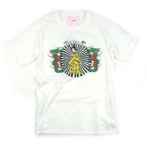 IROJIKAKE イロジカケ TEEEEE プリント Tシャツ T-SHIRTS メンズ レディース ユニセックス ホワイト IG1810-TS01|goldentijuana