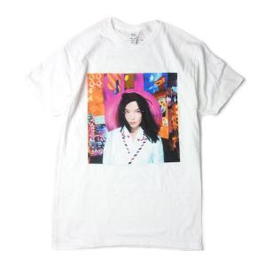 BJORK ビョーク POST ALBUM TITLE T-SHIRTS ポスト プリント Tシャツ...