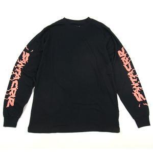 SANTA CRUZ サンタクルーズ BITER バイター L/S Tシャツ 長袖 ロンTEE サメ スケートボード サーフ サーフィン JIM PHILLIPS ジムフィリップス ブラック|goldentijuana