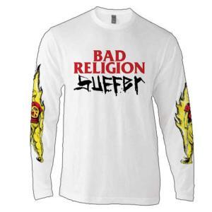 Bad Religion バッド・レリジョン SUFFER L/S T-SHIRTS サファー ロン...