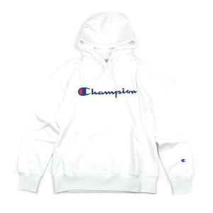チャンピオン ベーシック ロゴ プルオーバー パーカ CHAMPION BASIC LOGO PARKA メンズ レディース ホワイト セール 5%OFF