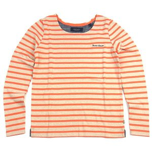 MAISON SCOTCH SALE BORDER L/S T-SHIRTS CUTSAW メゾン スコッチ ボーダー 長袖 Tシャツ カットソー セール RED レッド|goldentijuana