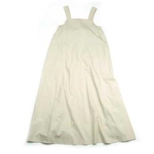 irojikake イロジカケ LONG DRESS IG1810-OP01 ロング ドレス ワンピース マキシワンピース ノースリーブ  キャミソール 無地 ベージュ レディース|goldentijuana