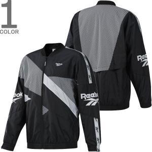 REEBOK リーボック EC4625 CLASSIC VECTOR SPORT JACKET クラシック ベクター スポーツ ジャケット ウインドブレーカー メンズ レディース ブラック 送料無料|goldentijuana