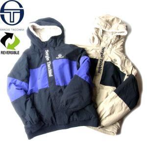 SERGIO TACCHINI セルジオ・タッキーニ TK-9761024 REV. HODHIE JACKET リバーシブル フーディー ジャケット メンズ レディース 2カラー 送料無料|goldentijuana