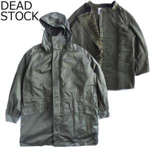 DEAD STOCK デッドストック French military M64 FIELD PARKA フランス軍 フィールド パーカ ボアライナー付き コート ジャケット メンズ 送料無料|goldentijuana