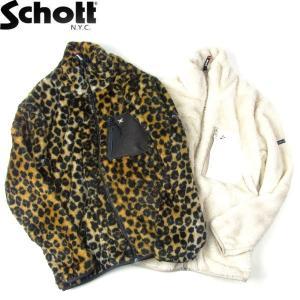 SCHOTT ショット LEATHER POCKET PILE JACKET レザーポケット パイル ジャケット ワンスター メンズ レディース 2カラー 3192042 送料無料|goldentijuana