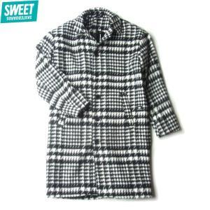 SWEET SKTBS スウィート スケートボード WINTER COAT ウィンター コート ジャケット ロングコート メンズ レディース ブラック 1009265201 送料無料|goldentijuana