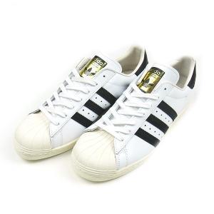 ADIDAS ORIGINALS アディダス オリジナルス SUPER STAR 80s スーパースター レザー ホワイト ブラック クラシック スニーカー 靴 G61070 送料無料